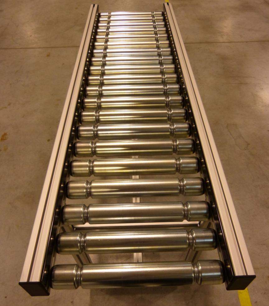 Roller conveyour w/o. motor