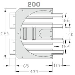 Kurve-180°-200
