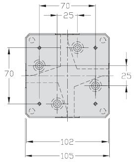 Werkstuecktraeger multidirektional TLM1000