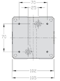 Werkstückträger unidirektional TLM 1000