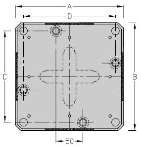 Werkstuecktraeger M Breite 300-400 TLM 200