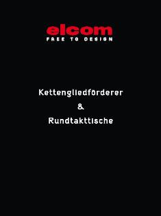 Katalog elcom Kettengliedförderer